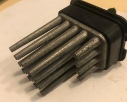 Регулятор скорости мотора вентиляции салона для OPEL ASTRA H, OMEGA B (Машины с климат-контролем)